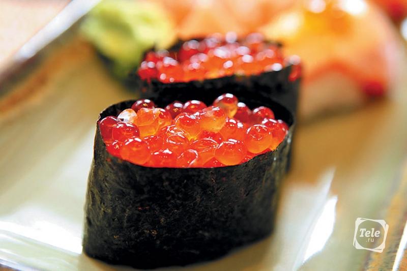 Суши «Гункан»
