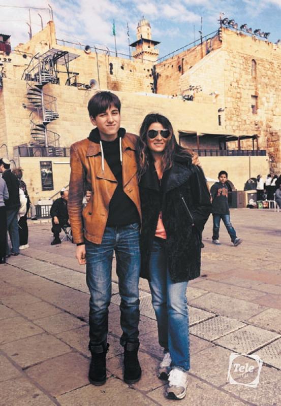 Жанна Бадоева с сыном