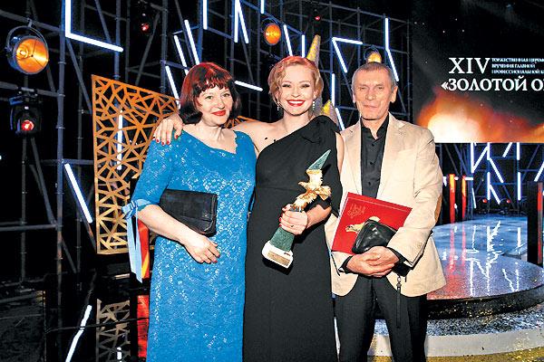 Юлия Пересильд снялась без бюстгальтера