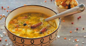 Гороховый суп для спортсменов 5